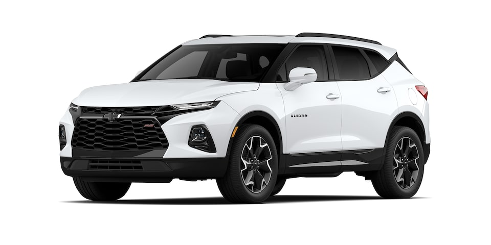 Chevrolet Blazer 2021 color blanco